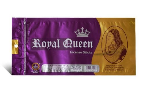 Royal Queen Zip Pouch
