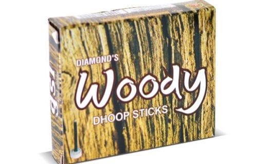 Woody Dhoop Sticks